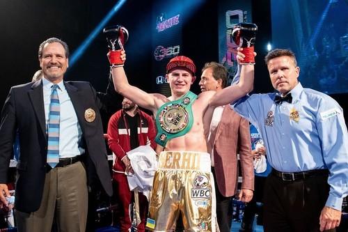 Украинец Богачук одержал очередную победу нокаутом