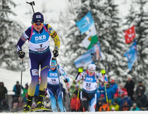 Хохфильцен-2019. Украина финишировала четвертой в женской эстафете