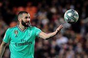 Бензема вырвал ничью для Реала против Валенсии