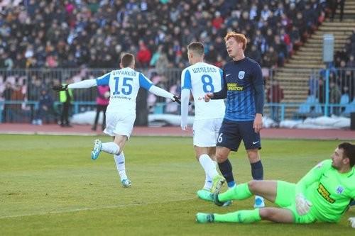 Динамо обыграло Десну и будет зимовать на второй позиции