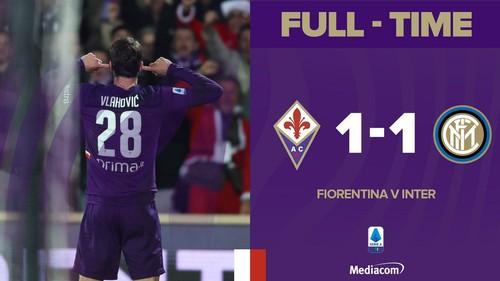 Фиорентина спасла матч с Интером, и теперь в Серии A двоевластие