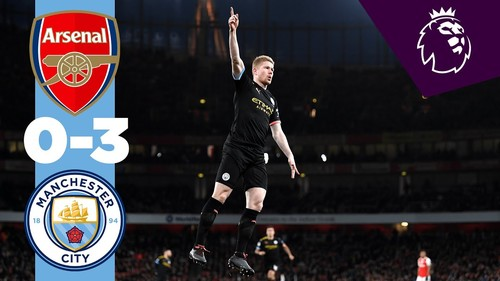 Арсенал – Манчестер Сити – 0:3. Видео голов и обзор матча
