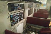 ФОТО. Футбольные фанаты разгромили вагон поезда Нежин – Киев