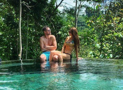 ФОТО. Милевский показал, как отдыхает на Бали