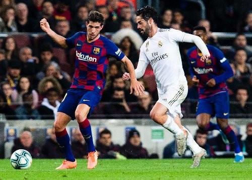 Барселона и Реал сыграли нулевую ничью на Камп Ноу