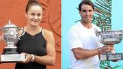 Чемпіонами світу за версією ITF названі Барті та Надаль