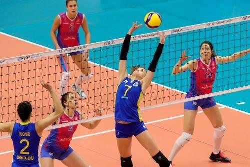 Запорожская Орбита завершила выступления в женском Кубке ЕКВ