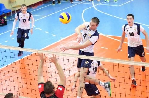 Завершился первый круг чемпионата Украины в мужской Суперлиге