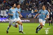 ВИДЕО. Безумная радость из раздевалки Лацио после Суперкубка