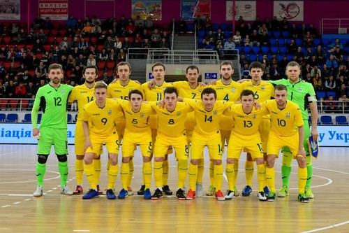 Сборная Украины по футзалу – шестая в рейтинге лучших команд Европы