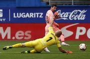 Дубль Месси позволил Барселоне сыграть вничью с Эйбаром
