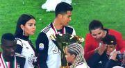 ВИДЕО. Как Роналду ударил сына трофеем Ювентуса