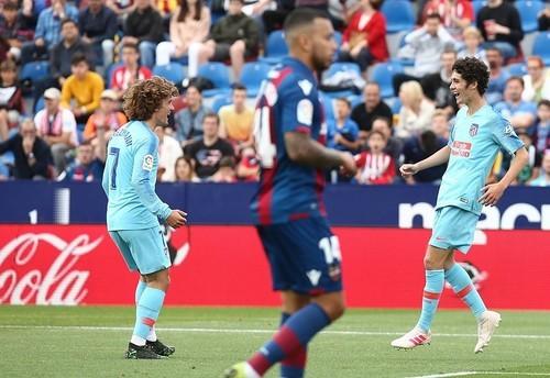 Леванте – Атлетико – 2:2. Видео голов и обзор матча