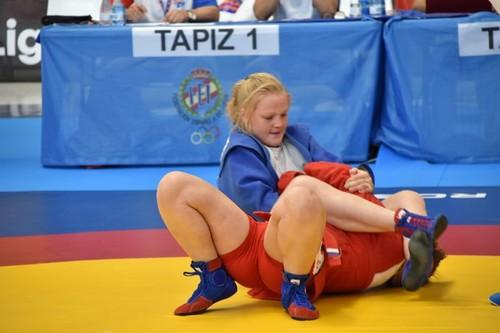 Збірна України завоювала 6 медалей в останній день ЧЄ з самбо