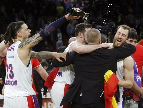 Московский ЦСКА выиграл баскетбольную Евролигу
