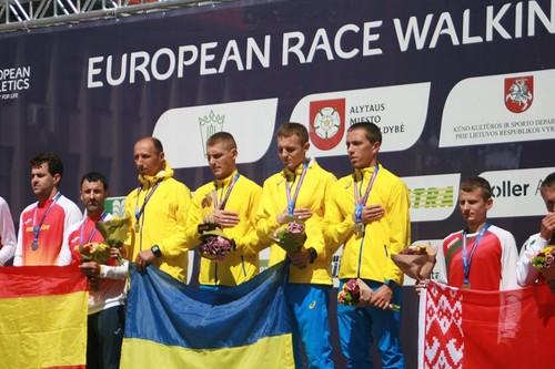 Две сборные Украины выиграли Кубок Европы по спортивной ходьбе
