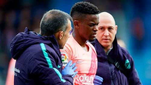 Семеду получил повреждение в матче с Эйбаром
