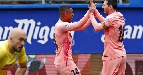 Месси в шестой раз забил 50 мячей за Барселону в сезоне
