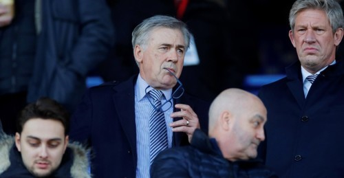 Анчелотти 5 января встретится с руководством Эвертона по поводу трансферов