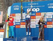 Тур де Ски. Остберг выиграла гонку преследования