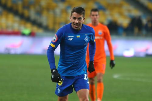 Карлос де Пена - игрок года в Динамо по версии болельщиков