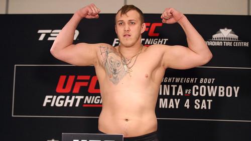 Украинец Спивак следующий бой в UFC проведет 1 марта