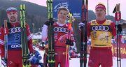 Тур де Ски. Клэбо выиграл масс-старт, Большунов сохранил лидерство