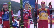 Тур де Ски. Клэбо и Лампич выиграли спринт в Валь ди Фьемме