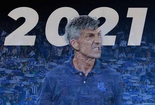 Реал Сосьедад продлил контракт с главным тренером
