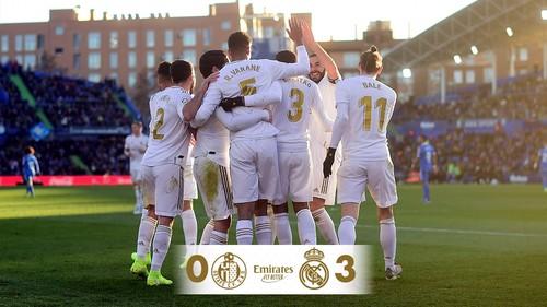 Реал переиграл в гостях Хетафе и вышел в лидеры Ла Лиги
