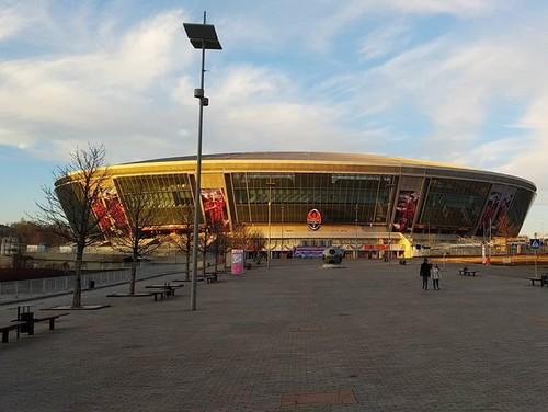 ФОТО. Заброшенная арена. Как выглядит сейчас Донбасс Арена в Донецке