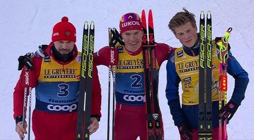Большунов – победитель Тур де Ски-2020