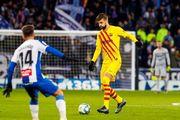 Фанаты Эспаньола грубо оскорбляли Пике и Шакиру в матче с Барселоной