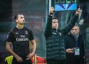 Милан сыграл вничью в дебютном матче Ибрагимовича