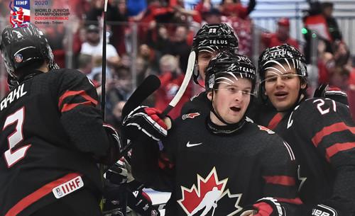 ВИДЕО. «Золотая» шайба Канады в финале ЧМ U-20 по хоккею