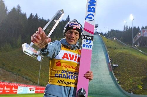 Давид Кубацки выиграл Турне четырех трамплинов-2020