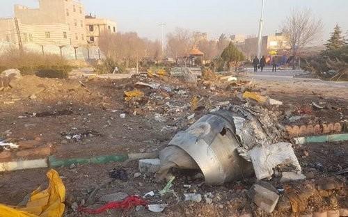 Украинский пассажирский самолет разбился в Иране