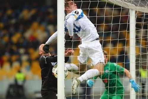 Киевское Динамо на пятом месте по очкам в Лиге Европы