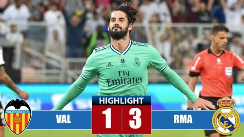 Valencia 3 6 реал мадрид видео обзор ru
