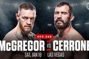 ВИДЕО. Промо UFC 246. Возвращение Конора Макгрегора