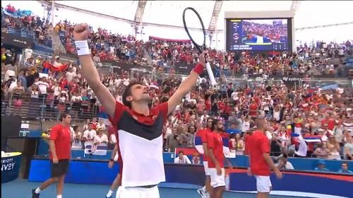 Джокович вывел Сербию в полуфинал Кубка ATP