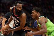 НБА. Хьюстон и Бостон разгромили Миннесоту и Нью-Орлеан