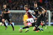 Манчестер Сіті знищив Астон Віллу, забивши 6 м'ячів супернику в гостях