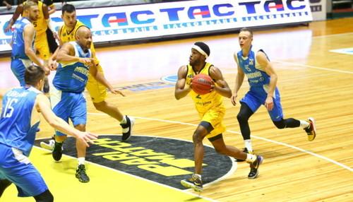Киев-Баскет переиграл Николаев с разницей в 5 очков