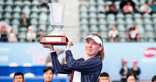 Шэньчжэнь. Александрова выиграла первый турнир WTA в сезоне