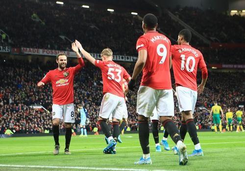 Манчестер Юнайтед — Норвич — 4:0. Видео голов и обзор матча
