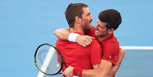 Джокович и Троицки приносят Сербии победу в финале ATP Cup