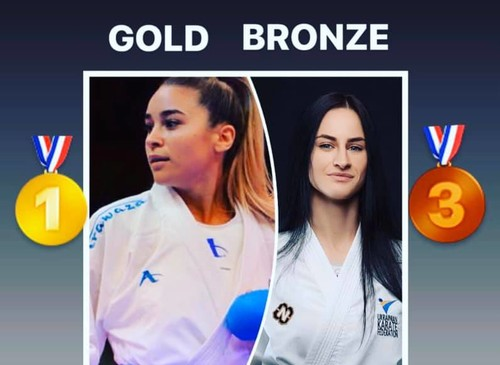 Две награды завоевали украинские каратистки на турнире в Чили