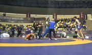 ВИДЕО. Украинский борец принял участие в драке на международном турнире