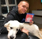 ВИДЕО. Самая счастливая собака в мире! Лидер Динамо показал питомца